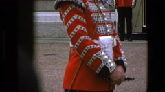 1969: celebration day for all coordinating the parade for a successful show  Stock Footage