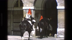 1969: just coming back from scouting the town it was a successful one ENGLAND Stock Footage