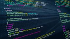 HTM  web programming Stock Illustration