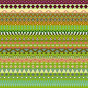 Colorful tribal vintage ethnic seamless pattern Stock Illustration