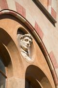 Architectural detail, Langhe, Piedmont, Italy Stock Photos