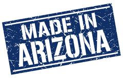 Made in Arizona stamp Stock Illustration