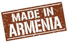 Made in Armenia stamp Stock Illustration