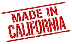 Made in California stamp Piirros