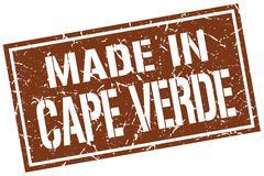 Made in Cape Verde stamp Stock Illustration