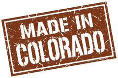 Made in Colorado stamp Stock Illustration