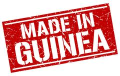 Made in Guinea stamp Stock Illustration