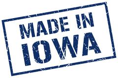 Made in Iowa stamp Piirros