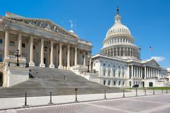 The US Capitol building in Washington D.C. Stock Photos
