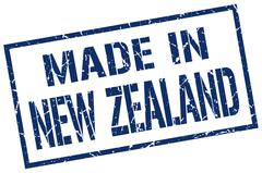 Made in New Zealand stamp Piirros
