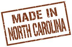 Made in North Carolina stamp Piirros