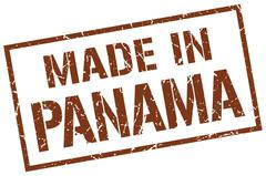 Made in Panama stamp Stock Illustration