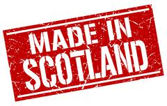 Made in Scotland stamp Piirros