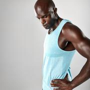 Fit young african man with muscular build Stock Photos