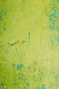 Close View Of Multilayer Dyed And Cracked Flaked Texture Of Blue Stock Photos