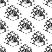 Seamless pattern. Design element Stock Illustration