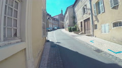 Walking Around The Town Of Cluny, France Stock Footage