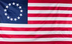 13 star flag for the original colonies of America Kuvituskuvat