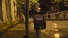 The pedestrian lane in the street of Belfast Stock Footage