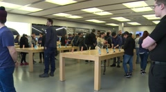 Apple store (Time Lapse) Stock Footage