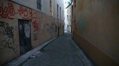 Vandalism in Europe Stock Footage