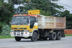 Private Old Hino Dump Truck. Stock Photos