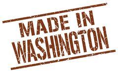 Made in Washington stamp Piirros