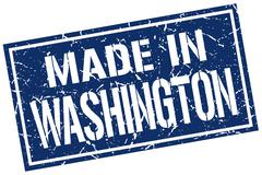 Made in Washington stamp Stock Illustration