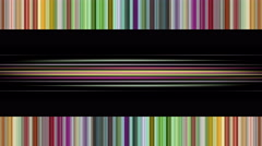 Fantastic animation with color changing stripe background, 4096x2304 loop 4K Stock Footage