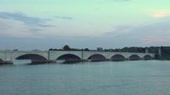 The Arlington Memorial Bridge Stock Footage