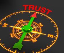 Trust Stock Illustration