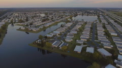 Florida Retirement Community Stock Footage