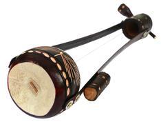 One stringed musical instrument known as Ektara Stock Photos
