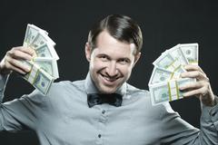 Win in lottery Stock Photos