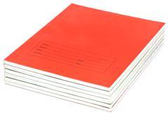 School notebooks Stock Photos