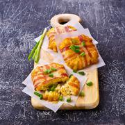 Baked vegetable cutlet Kuvituskuvat