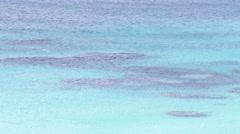 Blue waters in Bermuda Stock Footage