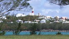 Small town of Saint George, Bermuda Stock Footage
