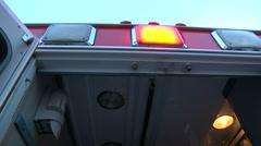 Ambulance for hospital medical emergency Stock Footage