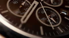 Chronograph Watch Stock Footage