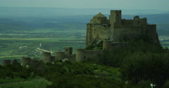 Castle In Spain Stock Footage
