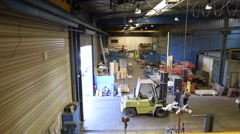General view of manufacture, inside Stock Footage