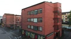 Recidential building in Rovaniemi Stock Footage