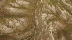 Lower Jordan - Jordan Valley overview  (Israel aerial footage) Stock Footage