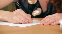 Letter To A Loved One Stock Footage