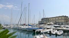 Borgo Marinari of Naples - Italy Stock Footage