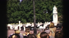 1952: a parade is seen EDINBOURGH, SCOTLAND Stock Footage