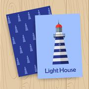Vector lighthouse icon Stock Illustration