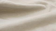 Light color fine velvet material pattern ready for tailoring 4K 3840X2160 Ult Stock Footage