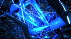 Vj Creative Abstract Polygon Background Stock Footage